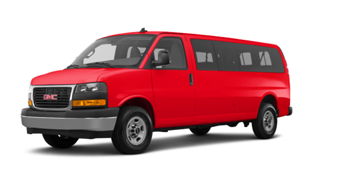 2018 GMC Savana 3500 PASSENGER LT | Photo 6 | Cardinal Red