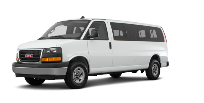 2018 GMC Savana 3500 PASSENGER LT | Photo 6 | Summit White