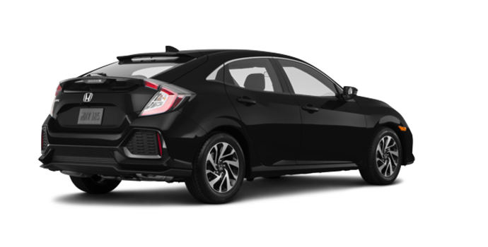2018 Honda Civic hatchback LX | Photo 5 | Crystal Black Pearl
