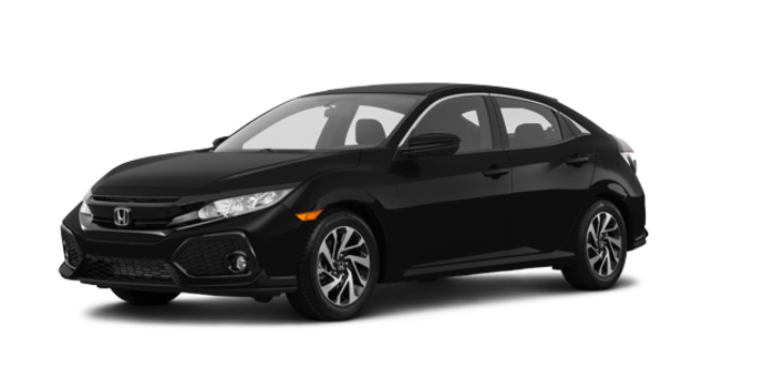 2018 Honda Civic hatchback LX | Photo 6 | Crystal Black Pearl