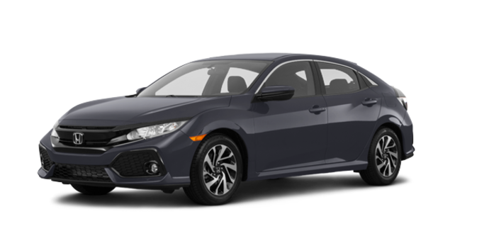 2018 Honda Civic hatchback LX | Photo 6 | Polished Metal Metallic