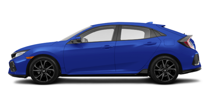 2018 Honda Civic hatchback SPORT TOURING | Photo 4 | Aegean Blue Metallic