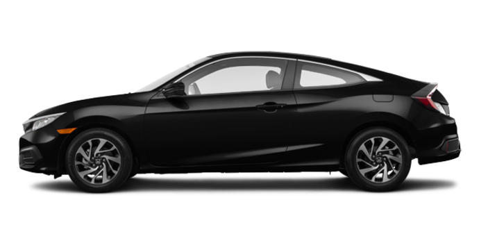 2018 Honda Civic Coupe LX | Photo 4 | Crystal Black Pearl