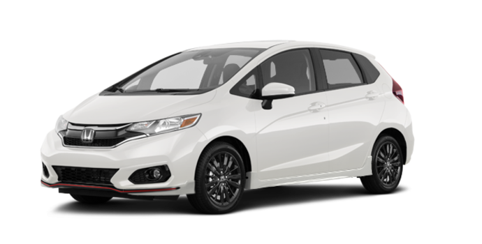 2018 Honda Fit SPORT SENSING | Photo 6 | White Orchid Pearl