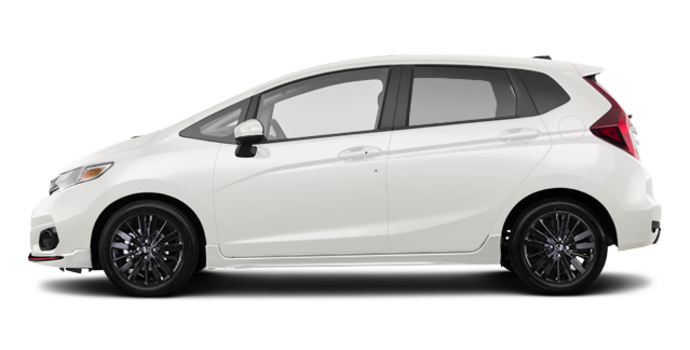 2018 Honda Fit SPORT | Photo 4 | White Orchid Pearl