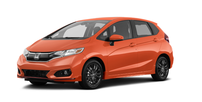 2018 Honda Fit SPORT | Photo 6 | Orange Fury