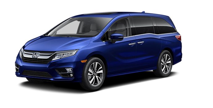 2018 Honda Odyssey TOURING | Photo 6 | Obsidian Blue Pearl
