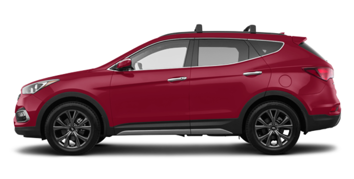 2018 Hyundai Santa Fe Sport 2.0T ULTIMATE | Photo 4 | Serrano Red