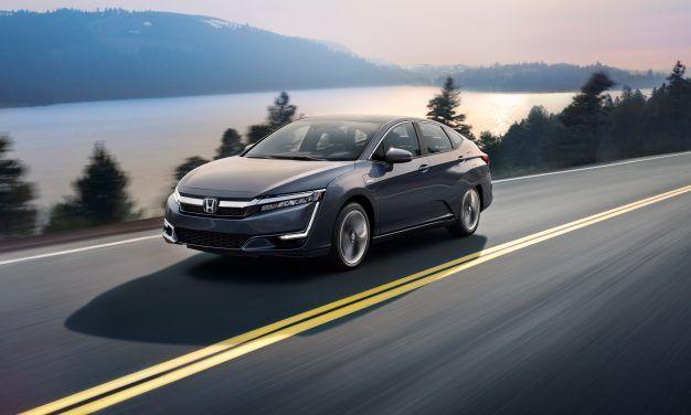 La Honda Clarity Hybride Rechargeable 2018: une berline écologique au look haut de gamme