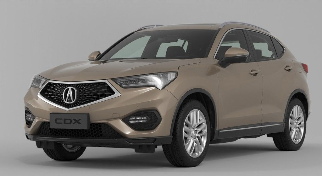 Acura Compact Crossover Unveiled In Beijing By Mierins