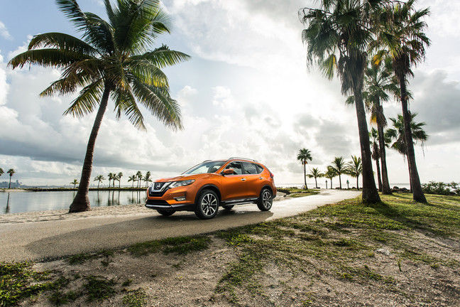 2017 Nissan Rogue vs. 2017 Hyundai Tucson: space is the determining factor