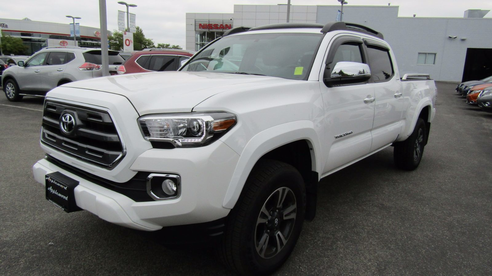 used 2017 toyota tacoma limited white for sale 46888 0 the original applewood motors in. Black Bedroom Furniture Sets. Home Design Ideas