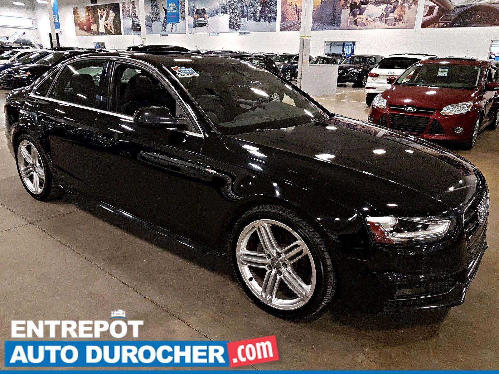 2015 Audi A4 Progressiv plus 4X4 NAVIGATION - A/C - Cuir - Heated Seats