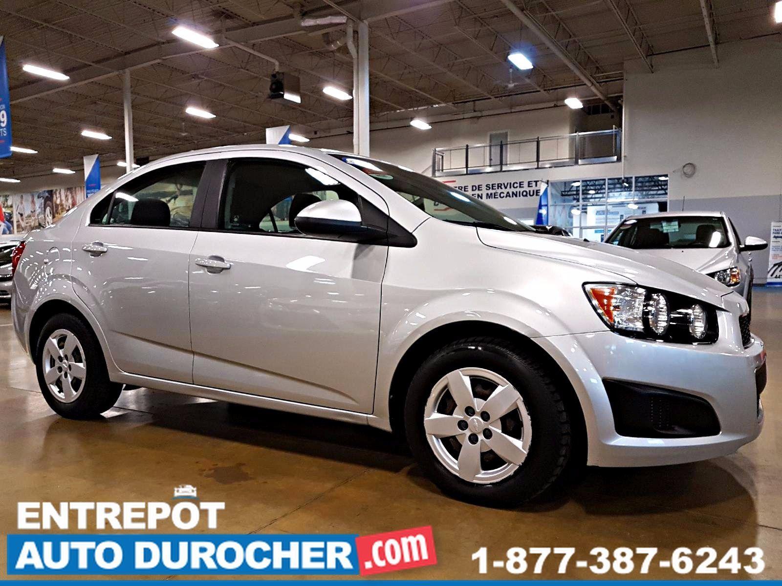 Chevrolet Sonic LS - AUTOMATIQUE - AIR CLIMATISÉ 2013