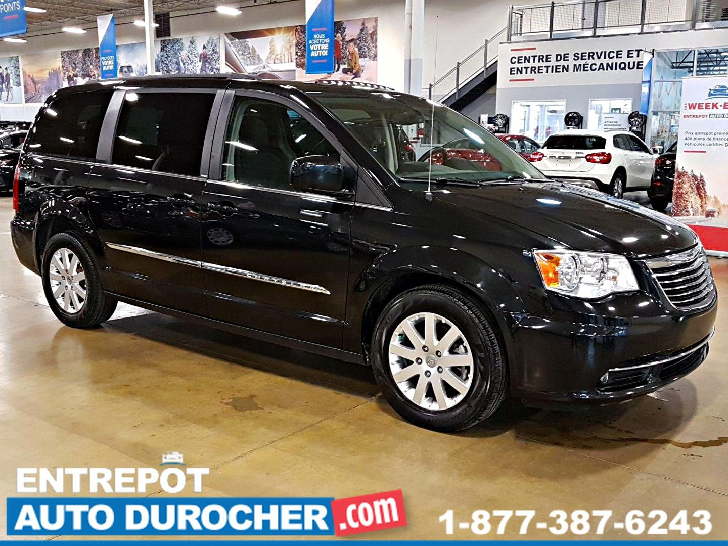 2013 Chrysler Town & Country TOURING NAVIGATION, STOW N' GO, TOIT OUVRANT BLU-RAY