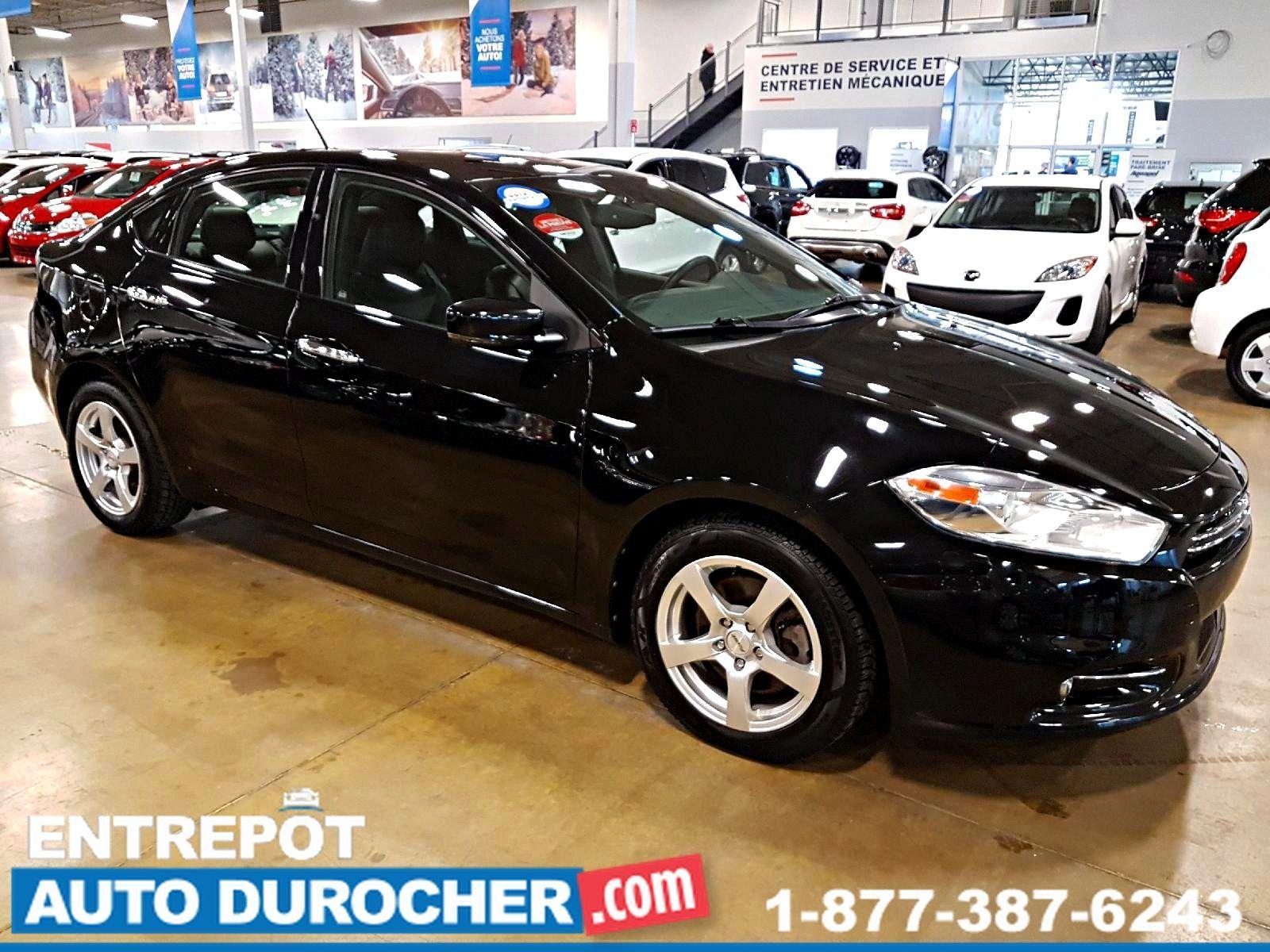 2013 Dodge Dart Limited / GT - Automatique - NAVIGATION - CUIR