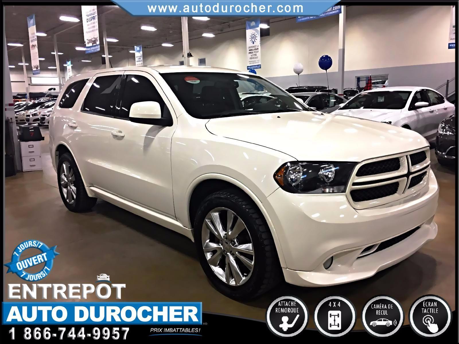 Dodge Durango HEAT AUTOMATIQUE AWD TOUT ÉQUIPÉ 7 PASSAGERS 2011