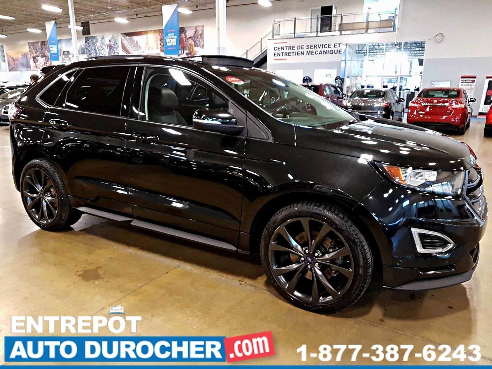 2015  Ford Edge AWD SPORT - NAVIGATION - TOIT OUVRANT - CUIR