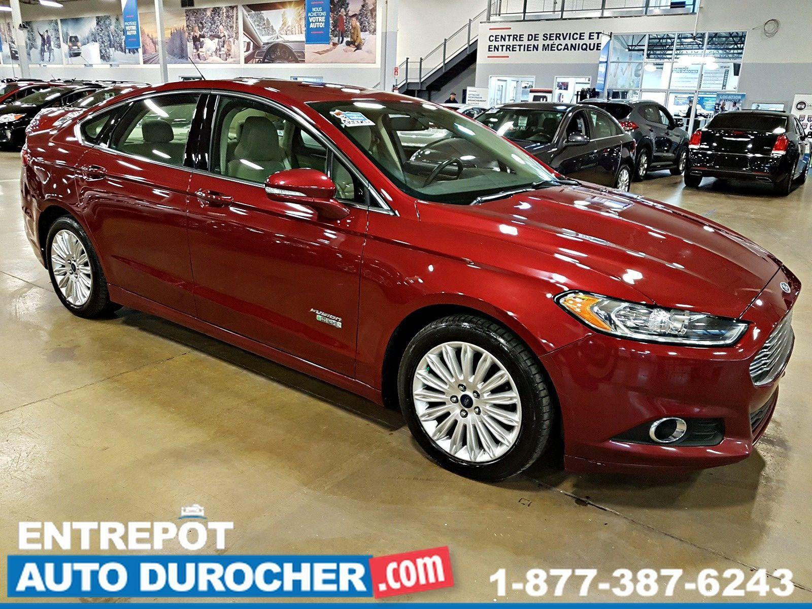 2015 Ford Fusion Energi SE Luxury Automatique NAVIGATION - CUIR - A/C - Caméra de Recul