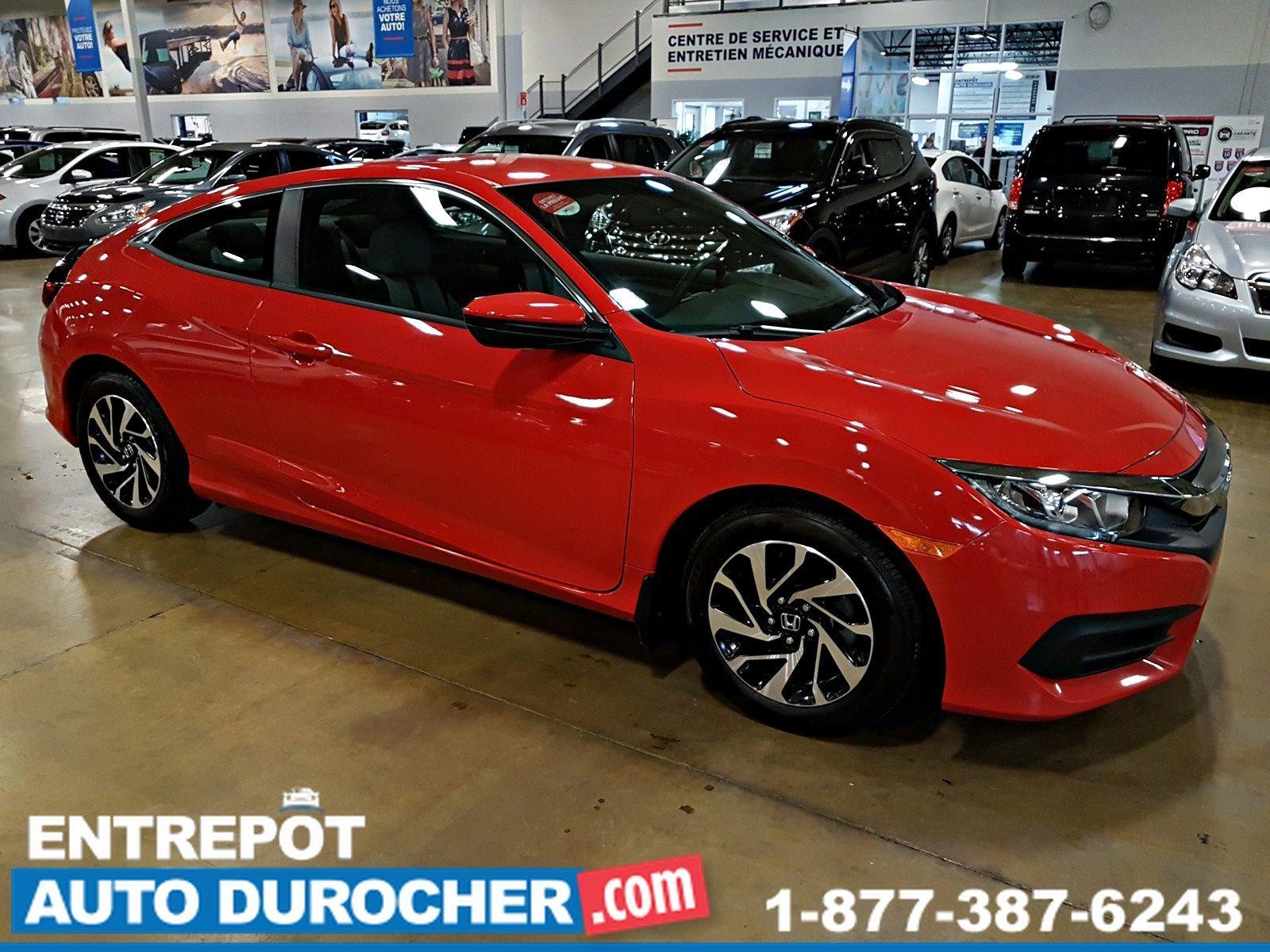 2017  Honda Civic Coupe LX - AIR CLIMATISÉ - Caméra de Recul - Bluetooth