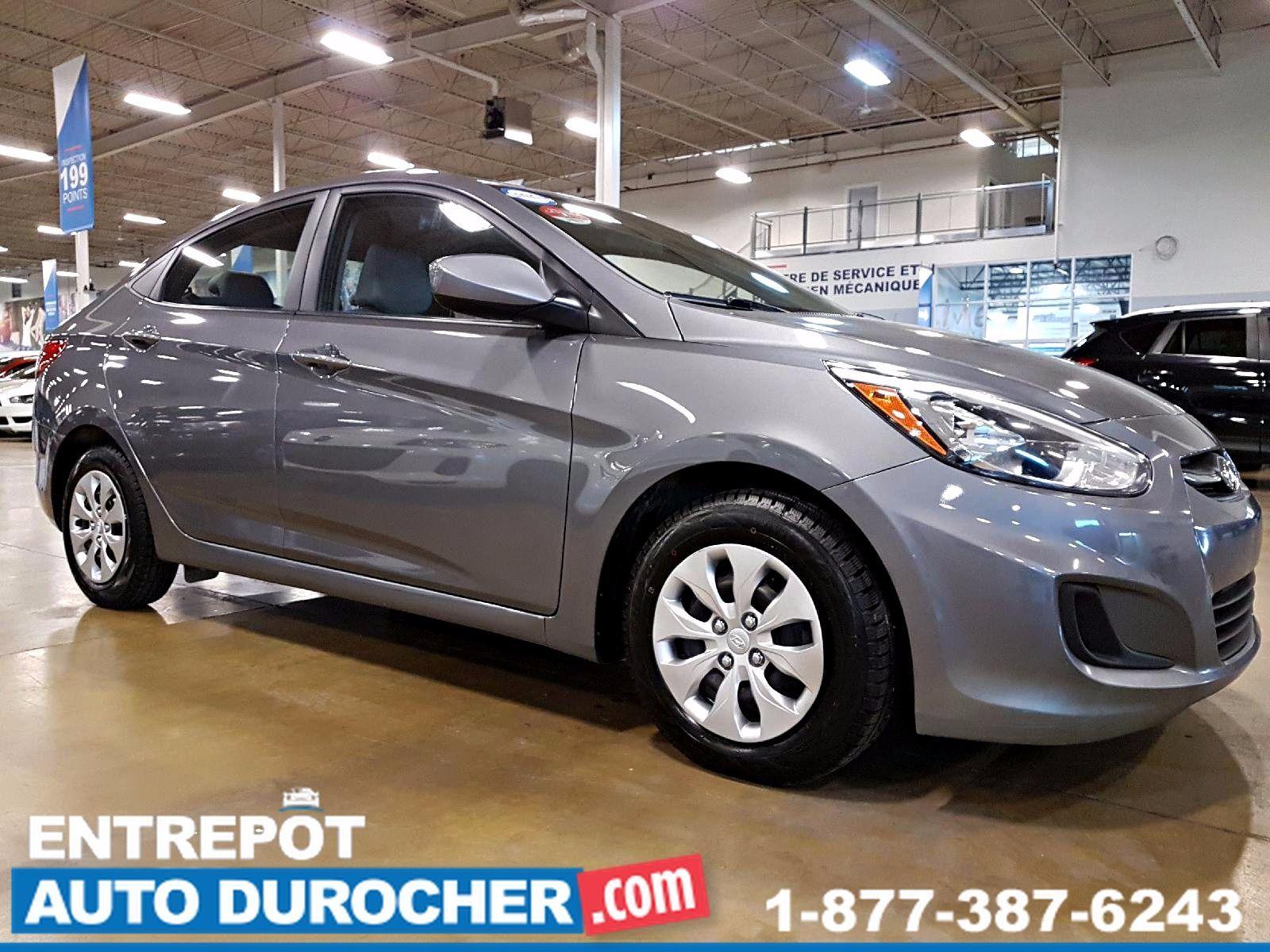 2016 Hyundai Accent AUTOMATIQUE - AIR CLIMATISÉ