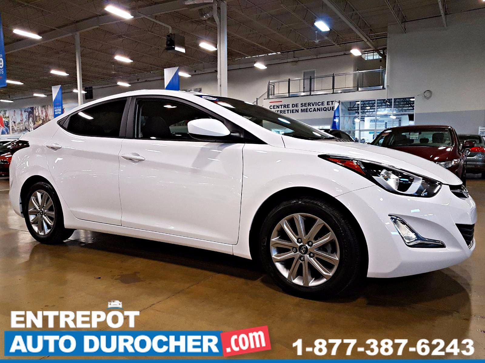 Hyundai Elantra AUTOMATIQUE - AIR CLIMATISÉ - SIÈGES CHAUFFANTS 2016
