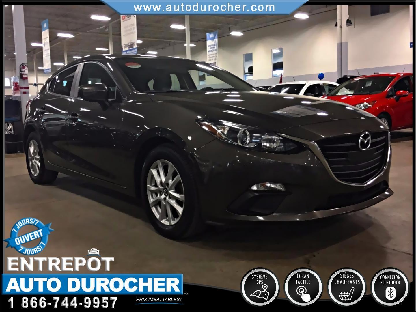 2014 Mazda Mazda3 GS-SKY MANUELLE TOUT ÉQUIPÉ SIÈGES CHAUFFANTS