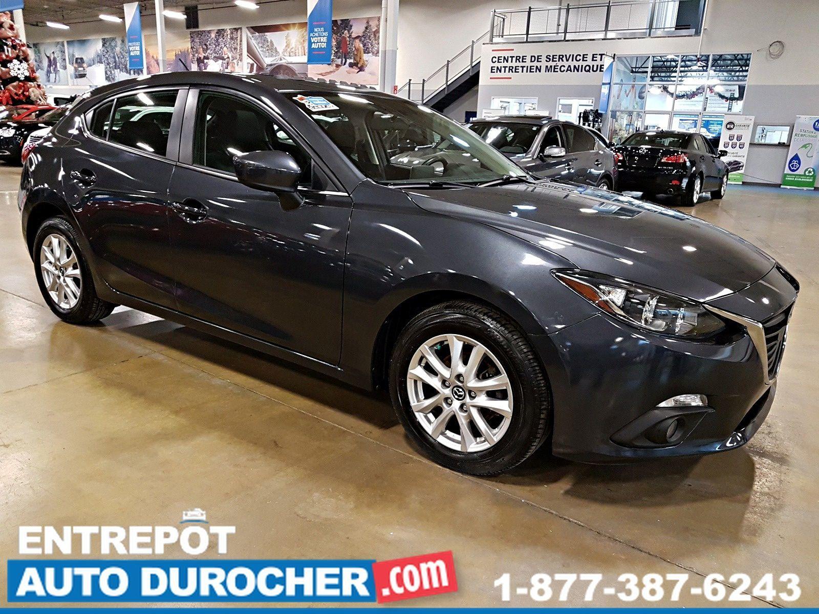 2015 Mazda Mazda3 GS - NAVIGATION - TOIT OUVRANT - A/C - Caméra de Recul