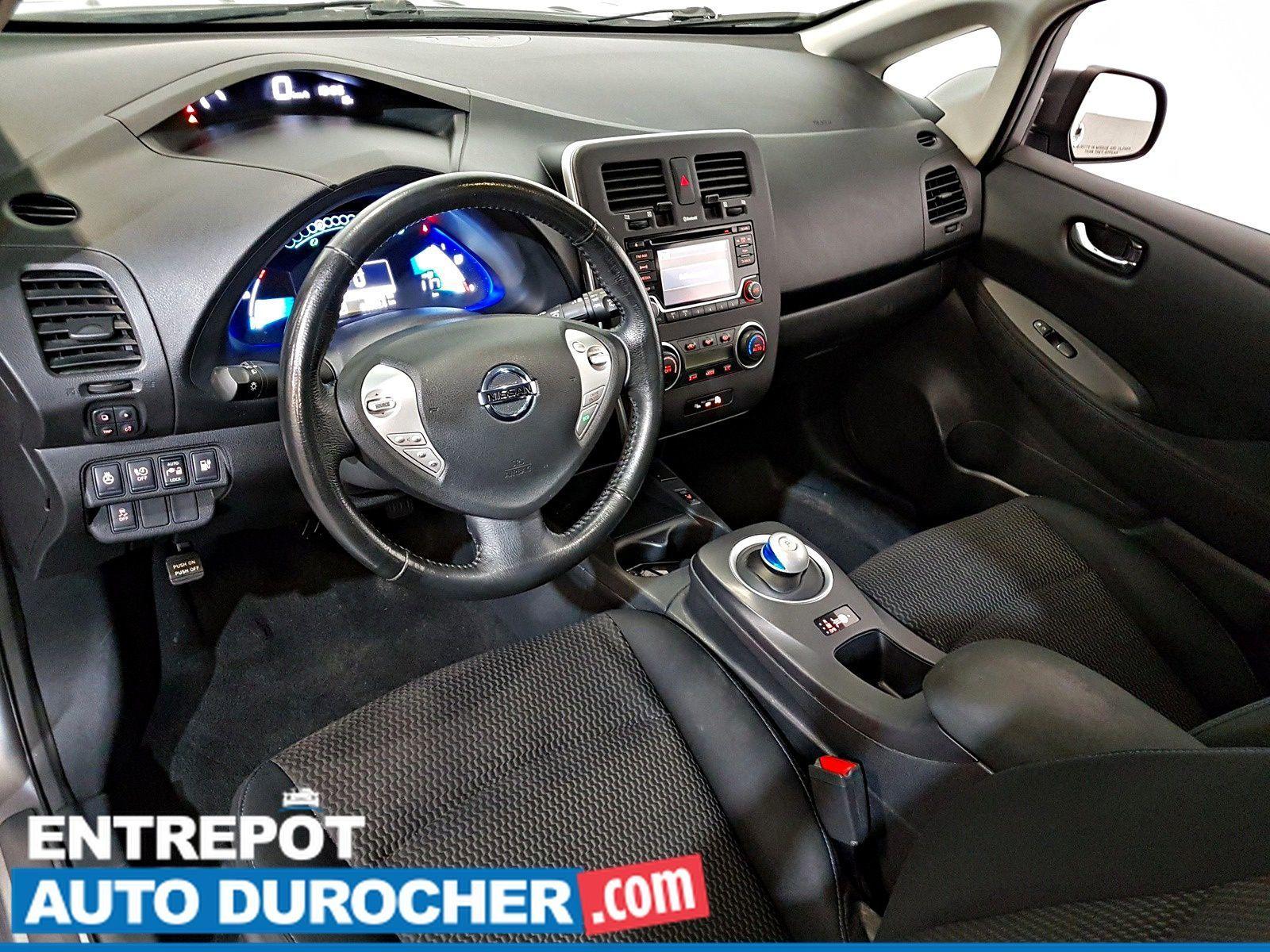 2016 Nissan Leaf SV Automatique - AIR CLIMATISÉ - Groupe Électrique - Caméra de Recul - Sièges Chauffants