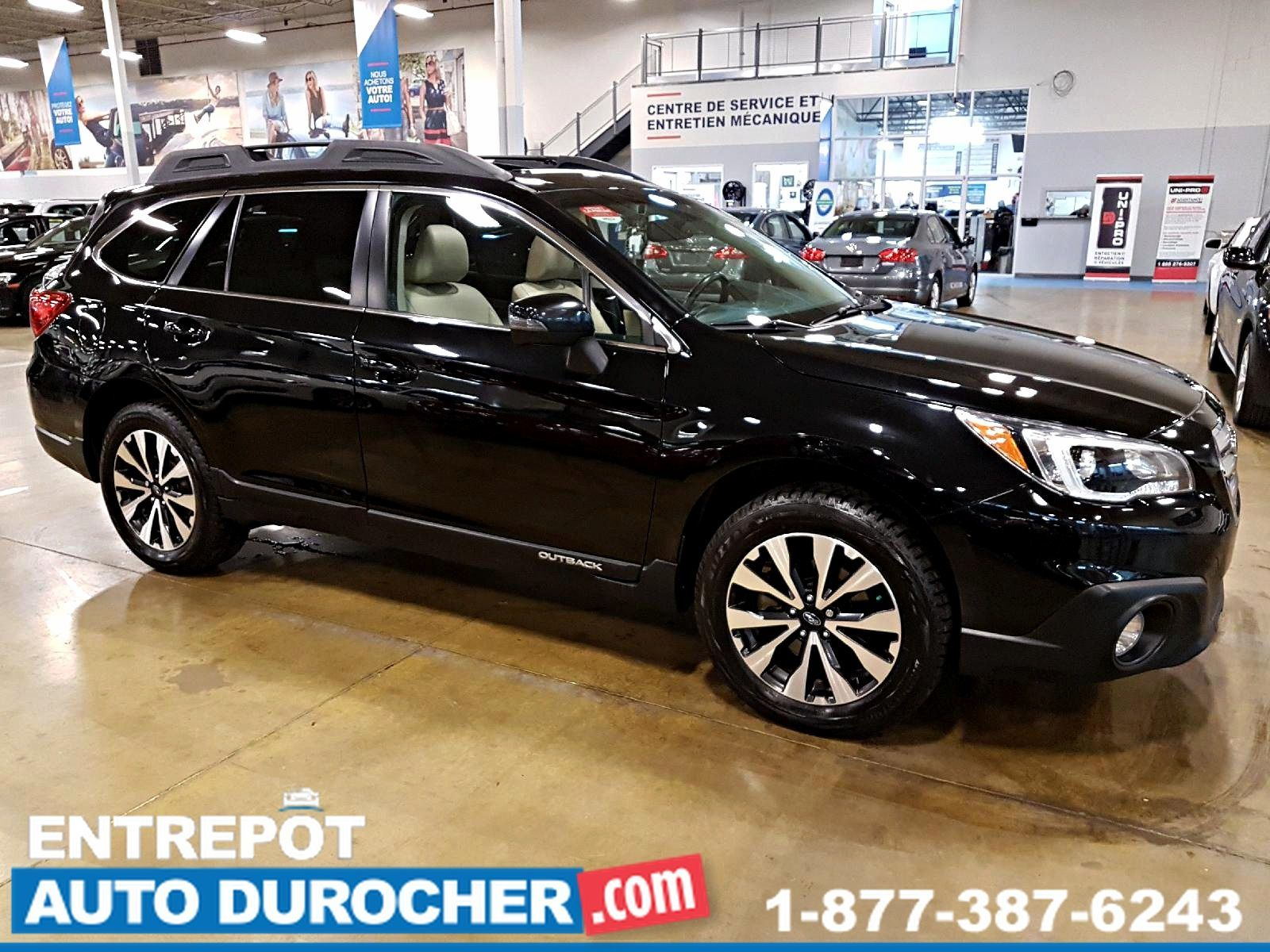 2015 Subaru Outback 3.6R Limited 4X4 NAVIGATION - TOIT OUVRANT - CUIR