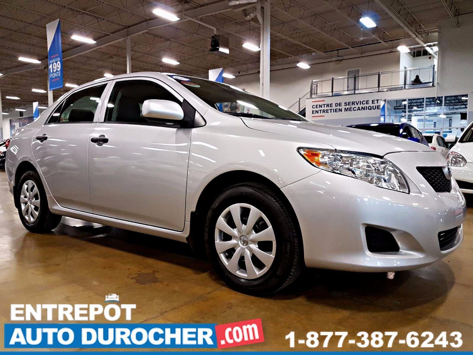 2010 Toyota Corolla AUTOMATIQUE