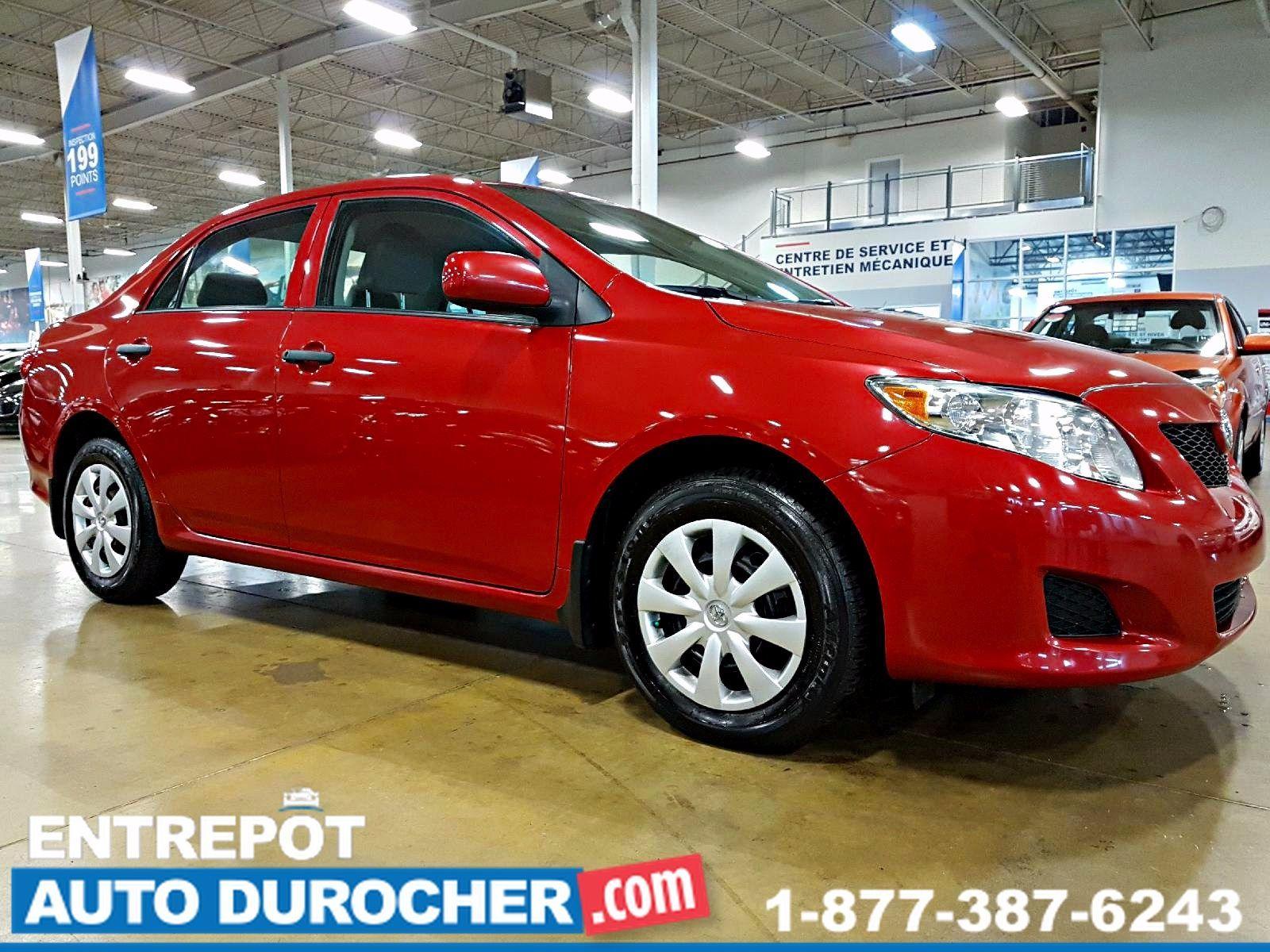 Toyota Corolla MIROIRS ÉLECTRIQUES 2010