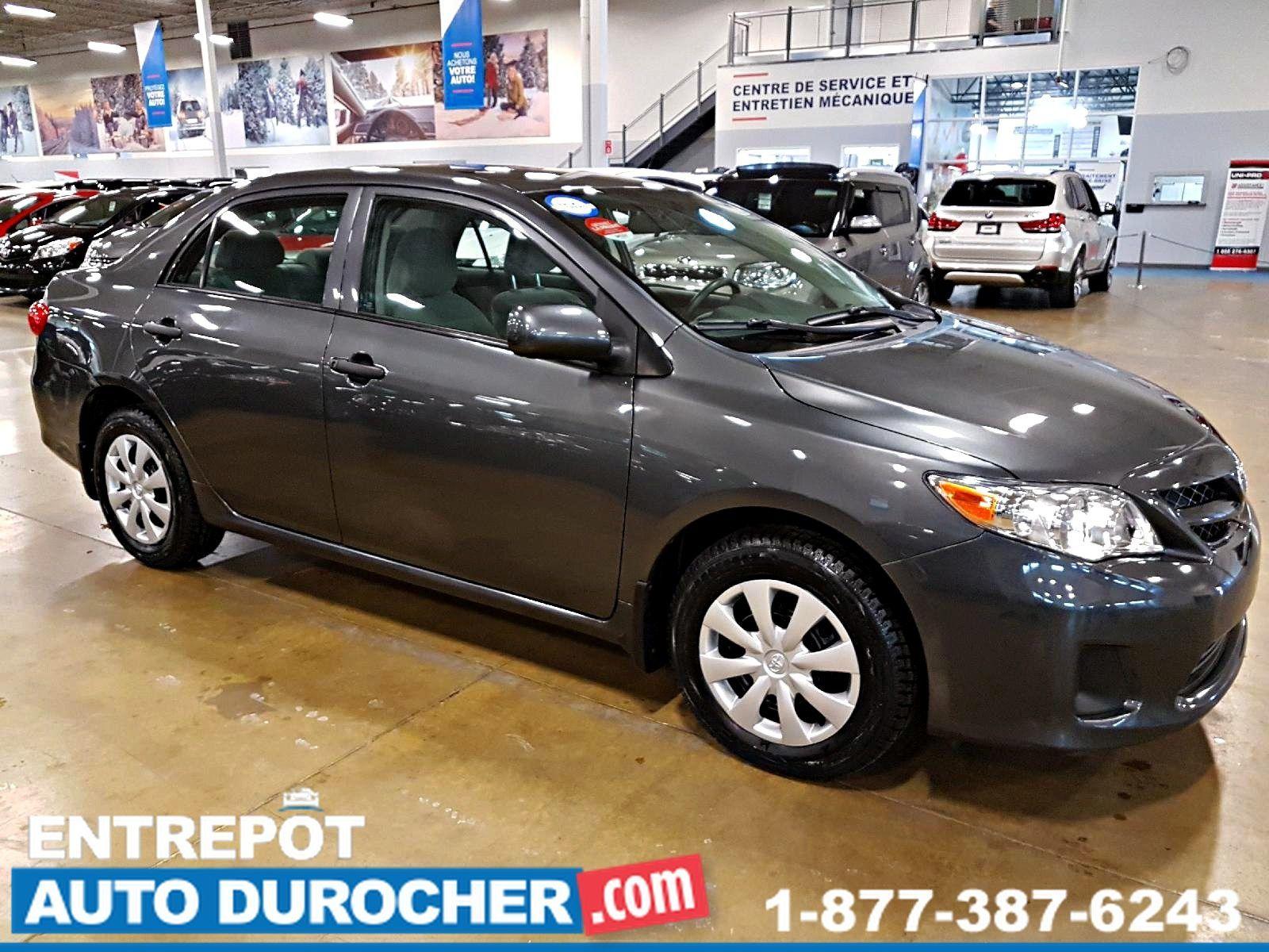 2012 Toyota Corolla CE BASE ÉCONOMIQUE BAS KILOMÉTAGE