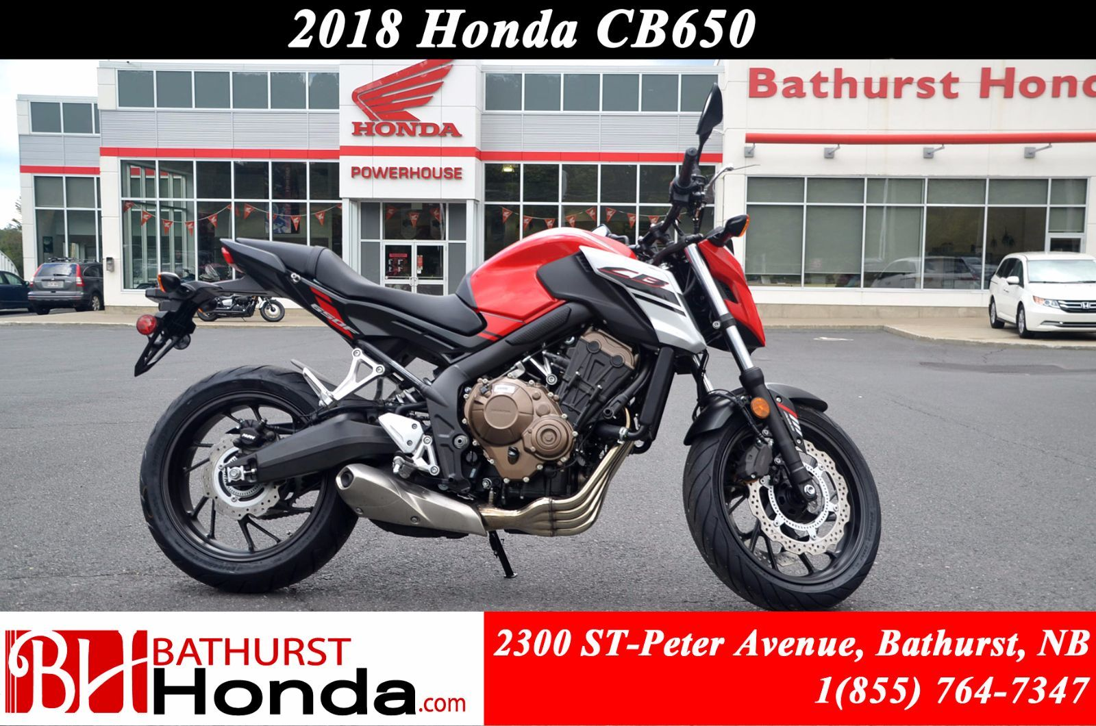 Honda Certified Pre Owned >> New 2018 Honda CB650 at Bathurst Honda | #B8015