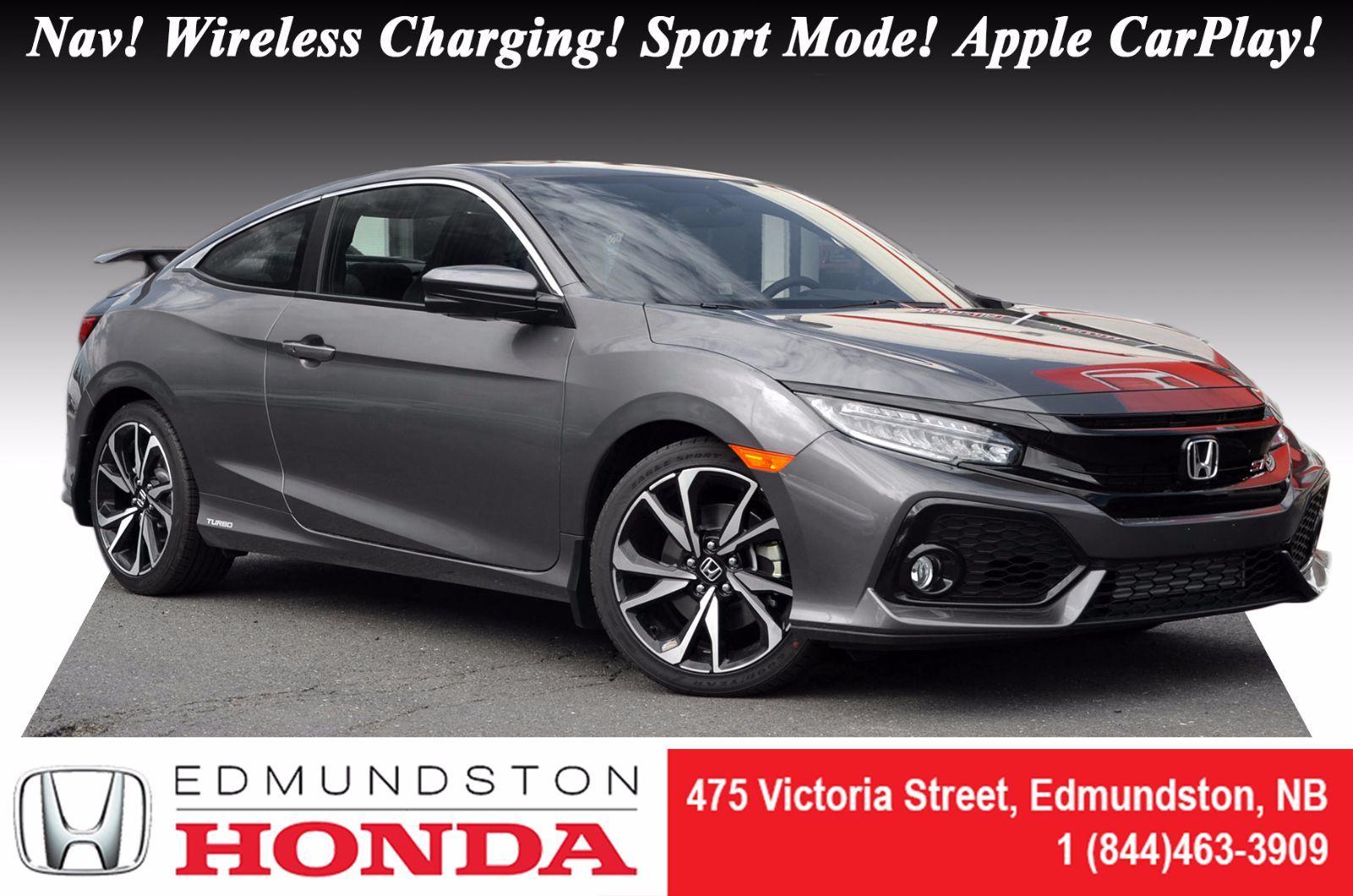 New 2017 honda civic coupe si at edmundston honda 12048 for Honda used inventory