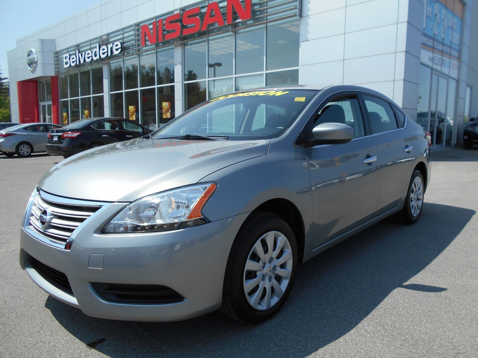 pre owned 2014 nissan sentra 1 8 s bluetooth a c d marreur distance in st j r me used. Black Bedroom Furniture Sets. Home Design Ideas