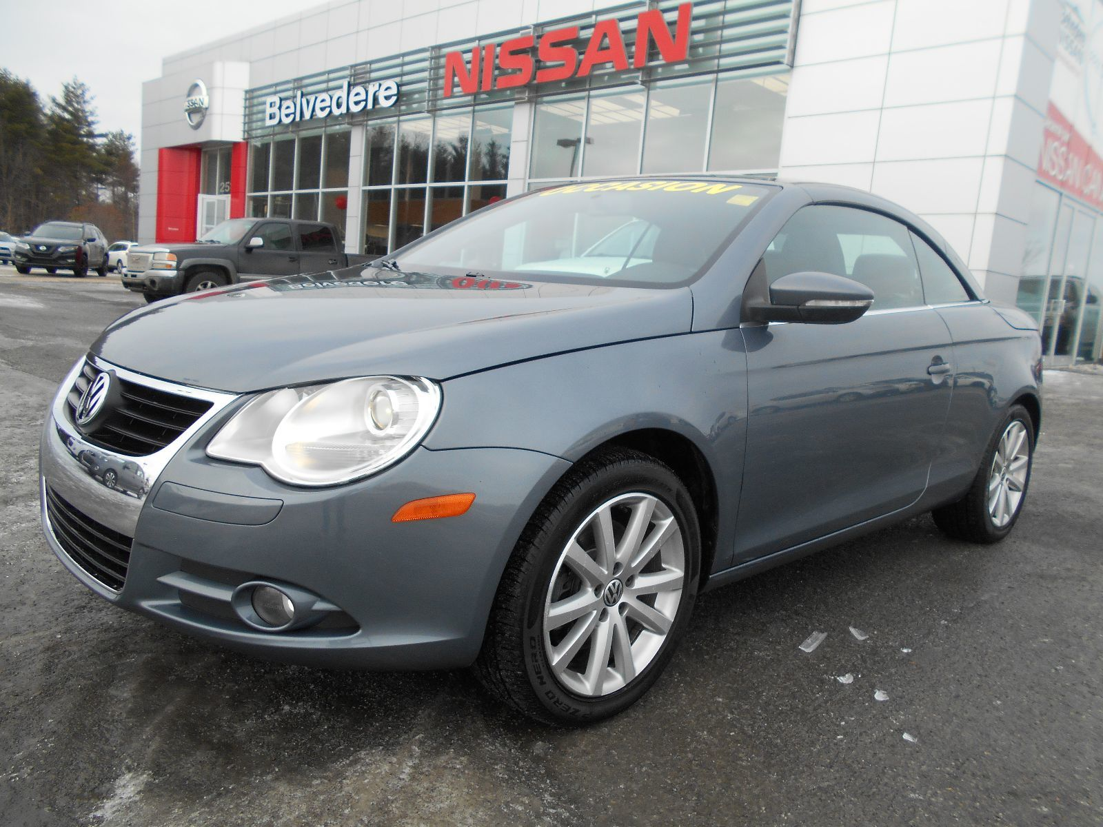pre owned 2009 volkswagen eos automatique convertible air. Black Bedroom Furniture Sets. Home Design Ideas