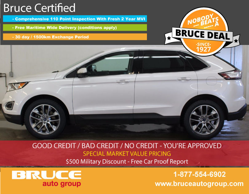 used 2015 ford edge titanium 3 5l 6 cyl automatic awd in middleton 0. Black Bedroom Furniture Sets. Home Design Ideas