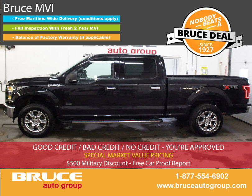 used 2015 ford f 150 xtr 3 5l 6 cyl ecoboost automatic 4x4. Black Bedroom Furniture Sets. Home Design Ideas