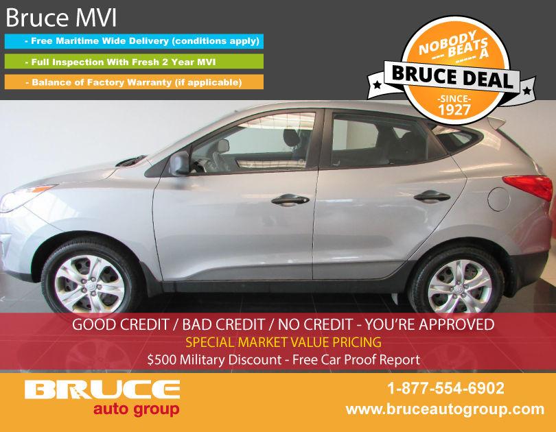 Used 2013 Hyundai Tucson Gl 2 4l 4 Cyl Automatic Awd In