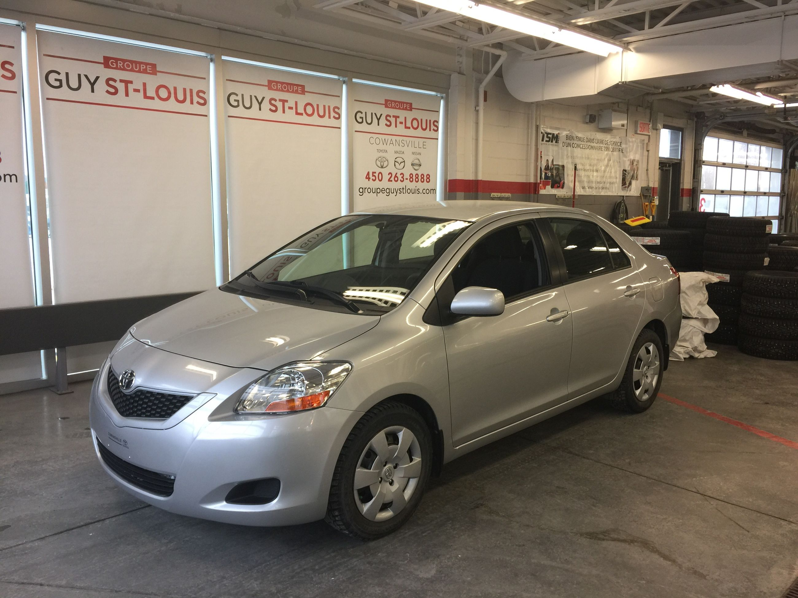 Occasion Cowansville Pre Owned 2011 Toyota Yaris Full Auto A C For Sale In Cowanville