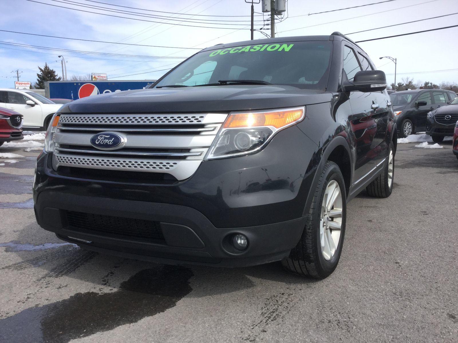 Ford Explorer **RÉSERVÉ**, XLT, AWD, 7 PASSAGERS, 2013 JAMAIS ACCIDENTÉ