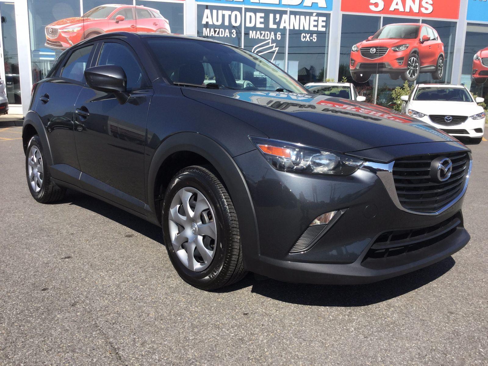 Mazda CX-3 GX,AWD,UN SEUL PROPRIÉTAIRE,GARANTIE JUSQU EN 2020 2016 CAMÉRA DE RECUL, BLUETOOTH,