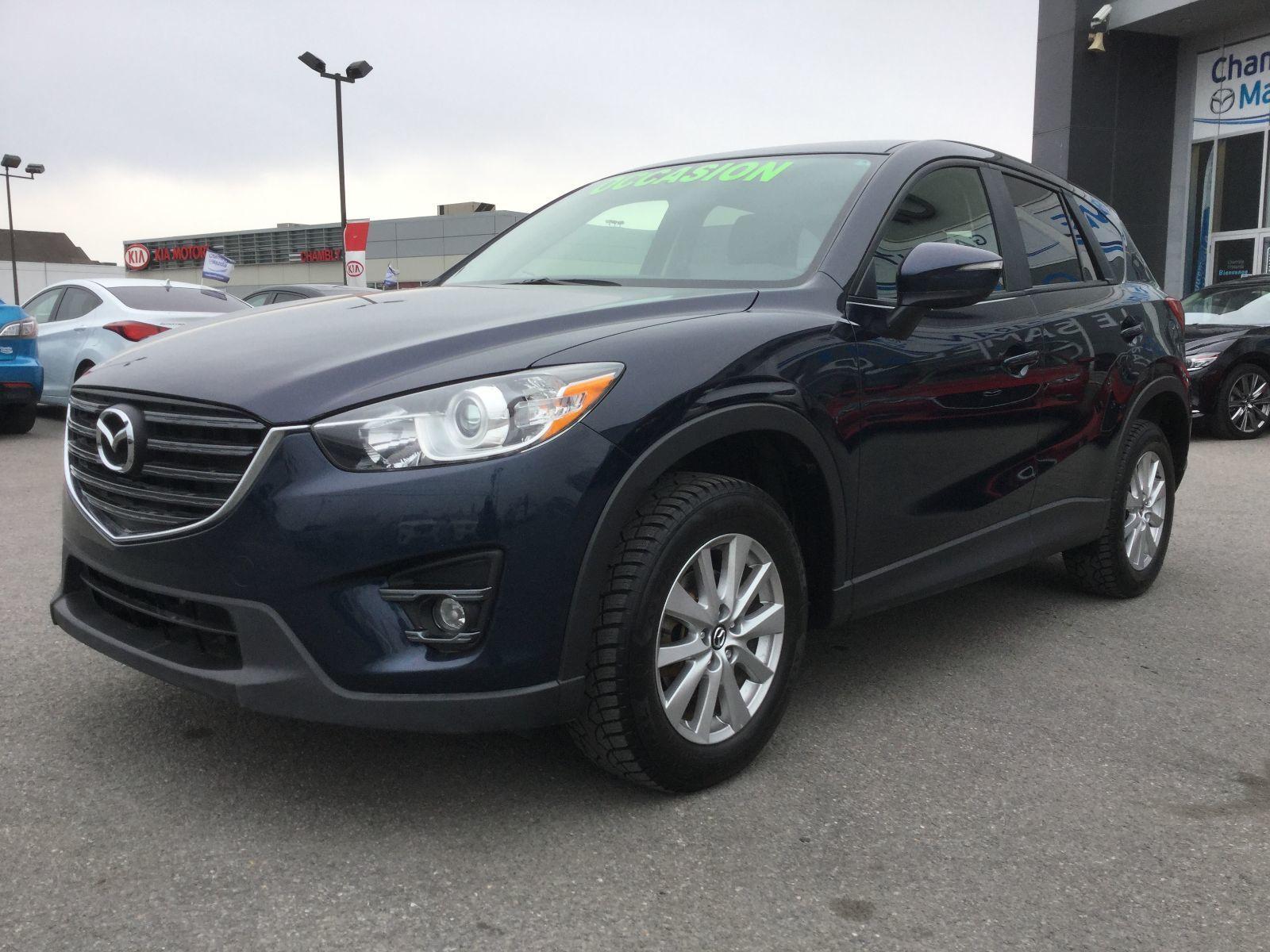 Mazda CX-5 **RÉSERVÉ**, GS, AWD, DEMARREUR, SIÈGES CHAUFFANTS 2016 JAMAIS ACCIDENTÉ