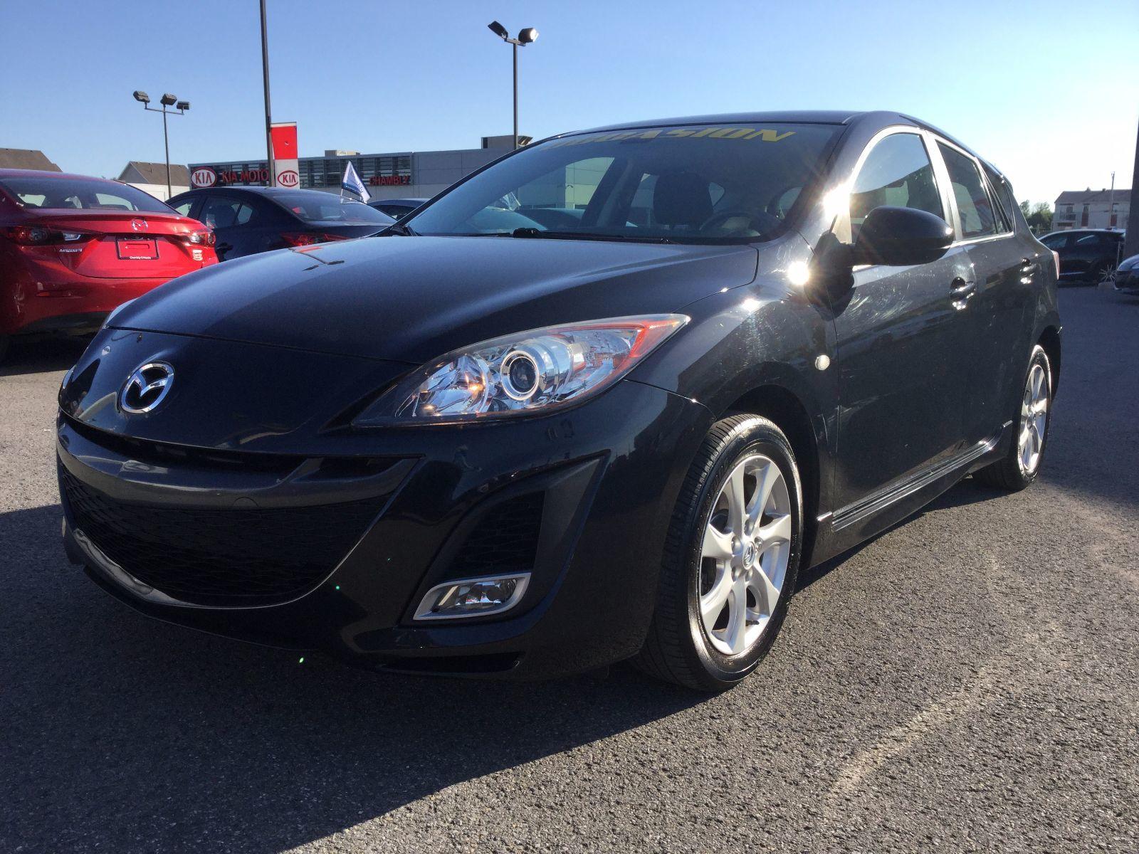 Mazda Mazda3 ***RÉSERVÉ***, GS**SEULEMENT 65000 KM**, BLUETOOTH 2010 JAMAIS ACCIDENTÉ, UN SEUL PROPRIÉTAIRE