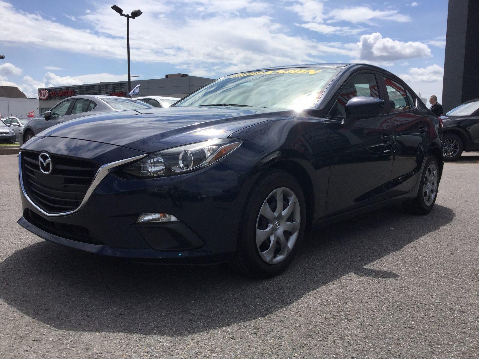 Mazda Mazda3 **RÉSERVÉ**, GX-SKY TAUX INTÉRÊT À PARTIR DE 0.9% 2014 AC, BLUETOOTH,GARANTIE JUSQU EN 2019