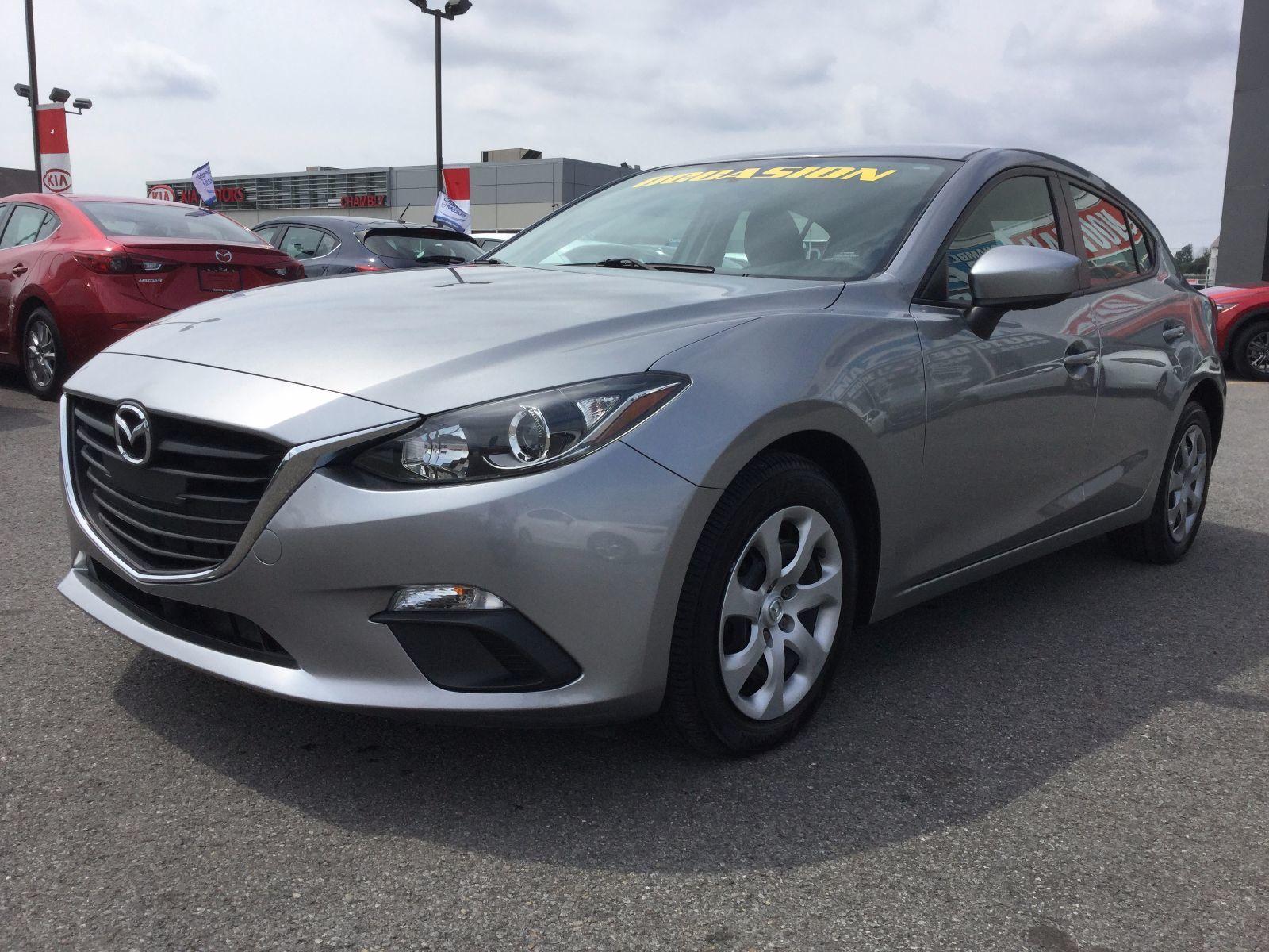 Mazda Mazda3 **RÉSERVÉ**, GX-SKY, SEULEMENT 33000 KM, BLUETOOTH 2014 JAMAIS ACCIDENTÉ, UN SEUL PROPRIÉTAIRE
