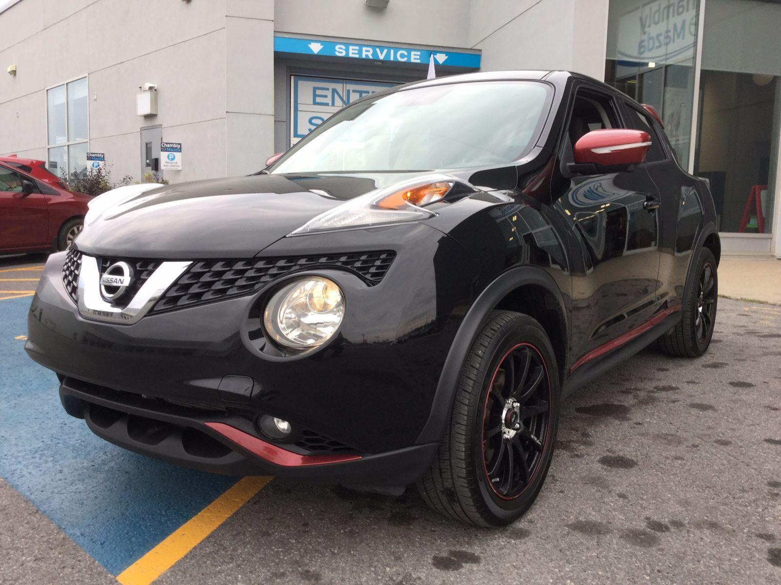 Nissan Juke **RÉSERVÉ**, SL AWD, UN SEUL PROPRIÉTAIRE 2015 SYSTEME ROCKFORD FOSGATE, CAMÉRA MULTI ANGLES,