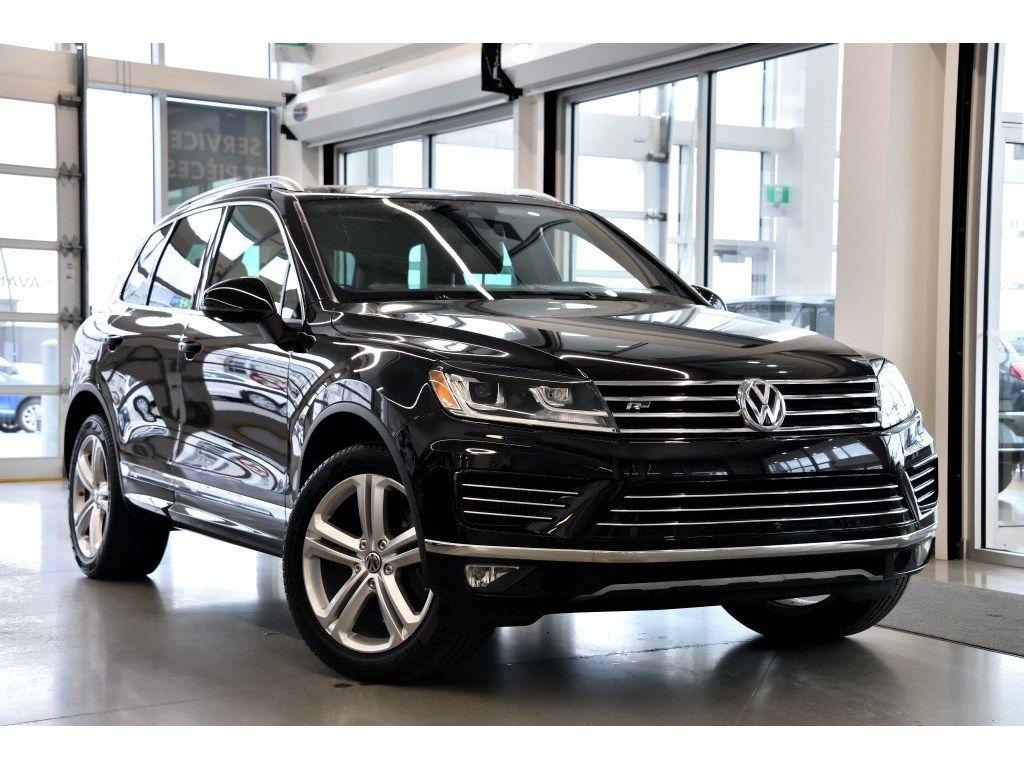Used 2015 Volkswagen Touareg 3 0 Tdi Execline Reserve Black 57 976 Km For Sale 43888 0 Vaudreuil Volkswagen P8479 Uaf
