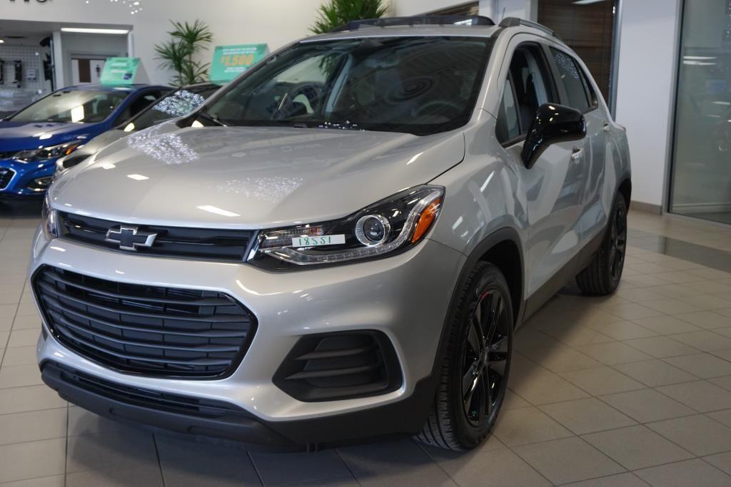 New 2018 Chevrolet Trax LT, Redline GAN - Silver Ice ...